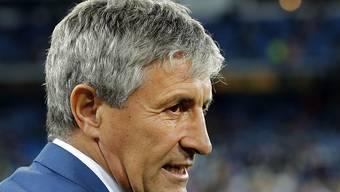 Quique Setién tritt beim FC Barcelona kein leichtes Amt an