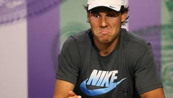 Rafael Nadal nach seinem letzten Einsatz in Wimbledon