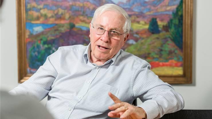 Christoph Blochers BaZ Holding zügelt in den Kanton Zug.