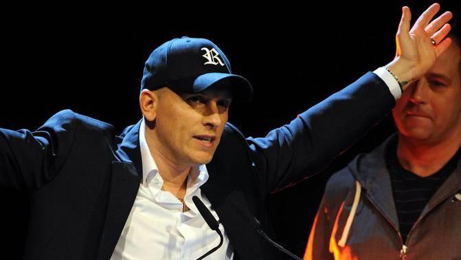 Erfolge und Awards sind ihm bestens vertraut: Remady bei den Swiss Music Awards 2011.