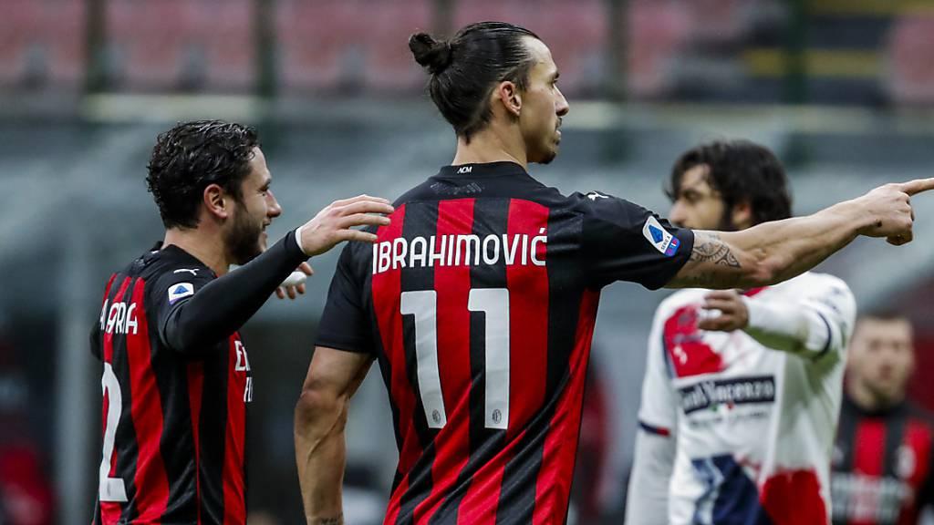 Ibrahimovic knackt 500-Tore-Marke – Milan bleibt Leader