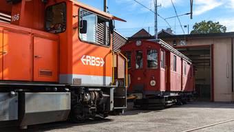 Der älteste Gütertriebwagen der RBS wurde am Mittwochmorgen ausrangiert.
