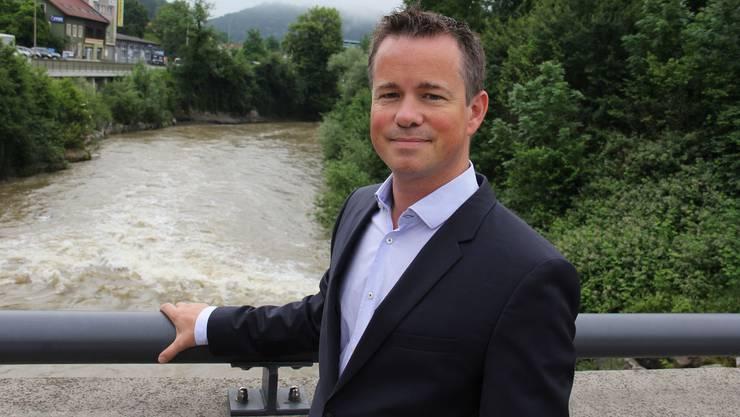 Bei der Birsbrücke in Zwingen hätte EBL-Chef Tobias Andrist gerne ein neues Wasserkraftwerk gebaut. Doch daraus wird nun nichts