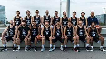 Die Erste Mannschaft des BC Bären Kleinbasel.