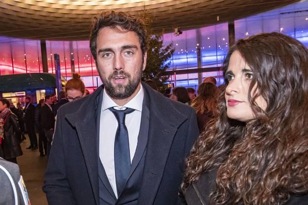 Matias Delgado mit Frau Laura