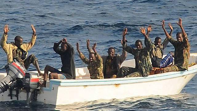Somalische Piraten (Archiv)
