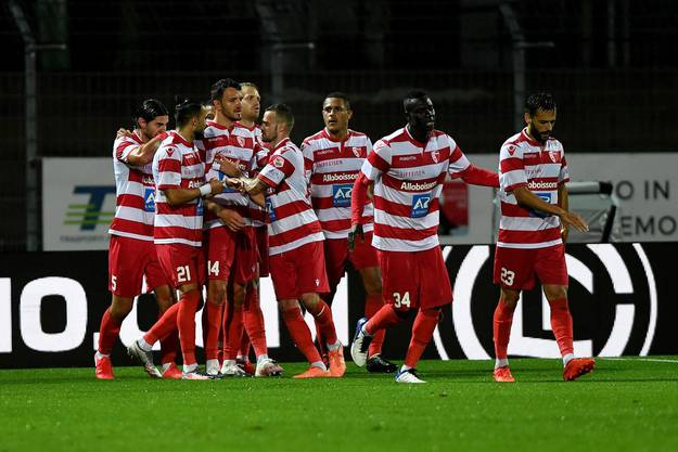 Sport ist für die Profis (hier der FC Sion) noch erlaubt, aber ohne Zuschauer. Das Walliser Team muss aber aktuell in die Quarantäne.