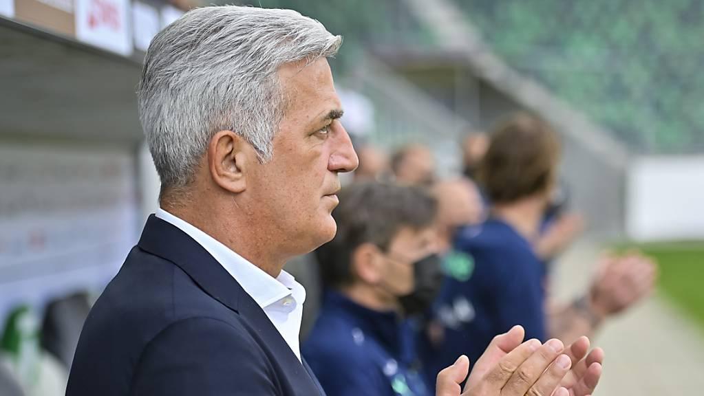 Gegen Liechtenstein gab es für Nationalcoach Vladimir Petkovic viel zu applaudieren