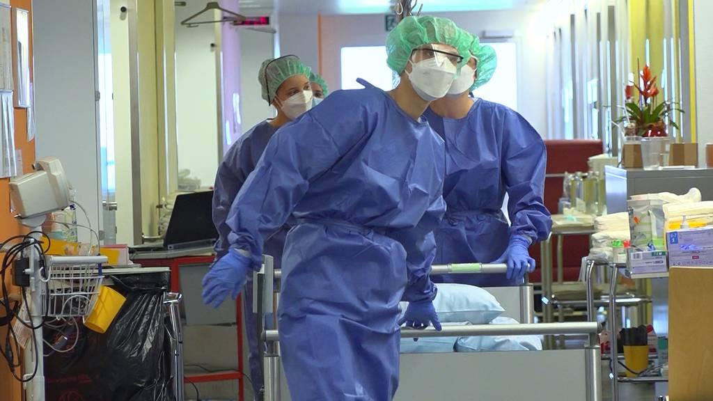 Das Spital Schwyz und die zweite Corona-Welle