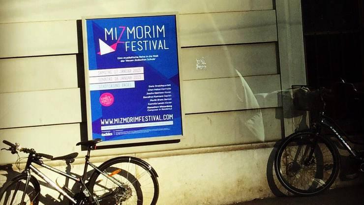 Das Plakat für das Mizmorim Festival 2015.