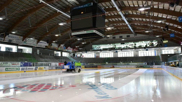Das Kleinholz in Olten soll wieder eine gute Adresse für Junioreneishockey werden.