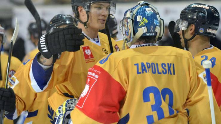 Lukko Rauma hatte auch im zweiten Spiel gegen Fribourg-Gottéron wieder Grund zum Jubeln