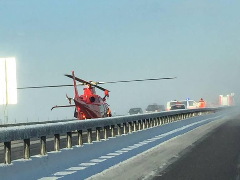 Drei Rega-Helikopter und sechs Ambulanzfahrzeuge waren im Einsatz. (Bild: Todayreporter)