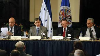 Verhandlungen in Honduras unter Aufsicht der OAS