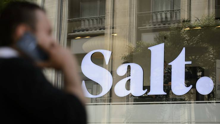 Mehr Shops, weniger Produkte: Telekomanbieter Salt will beim Angebot und dem Auftritt Änderungen vornehmen.