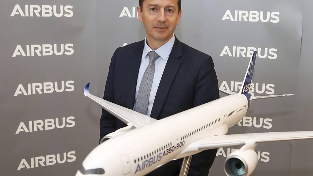 Airbus fährt seine Produktion um 40 Prozent zurück