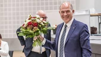 Die Blumen für den Regierungspräsidenten Anton Lauber kamen diesmal in Form von viel Zustimmung seitens der Fraktionen für den eingeschlagenen Coronakurs.
