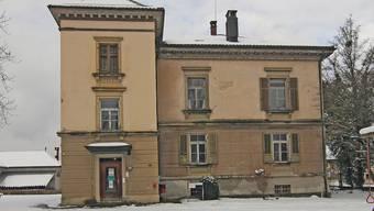 Jahrgang 1880: Die Villa Clara in Kölliken. (Archiv)