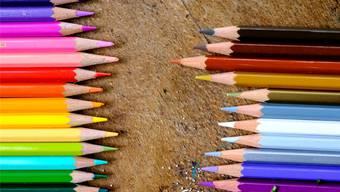 Farbenfroh: Das Ausstellungsplakat von Trudelhaus und Kunstraum. ZVG