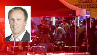 AZ-Sportredaktor Rainer Sommerhalder befindet sich in Las Vegas, als es zur Schiesserei mit Dutzenden von Toten kommt.