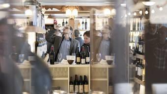 Grosse Auswahl: An der Expovina gibt es Weine aus allen Teilen der Welt.