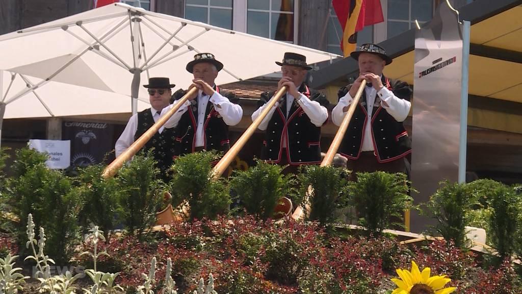 Schweizer Volksmusik-Zentrum auf der Lueg eingeweiht