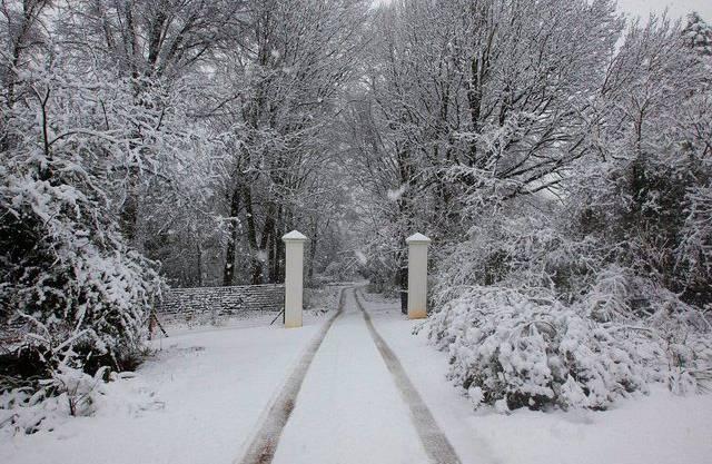 Schnee im südafrikanischen Harrismith