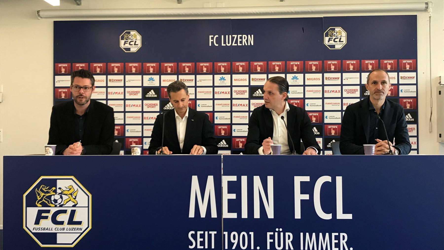 Der FC Luzern zieht Bilanz der Saison 2018/19