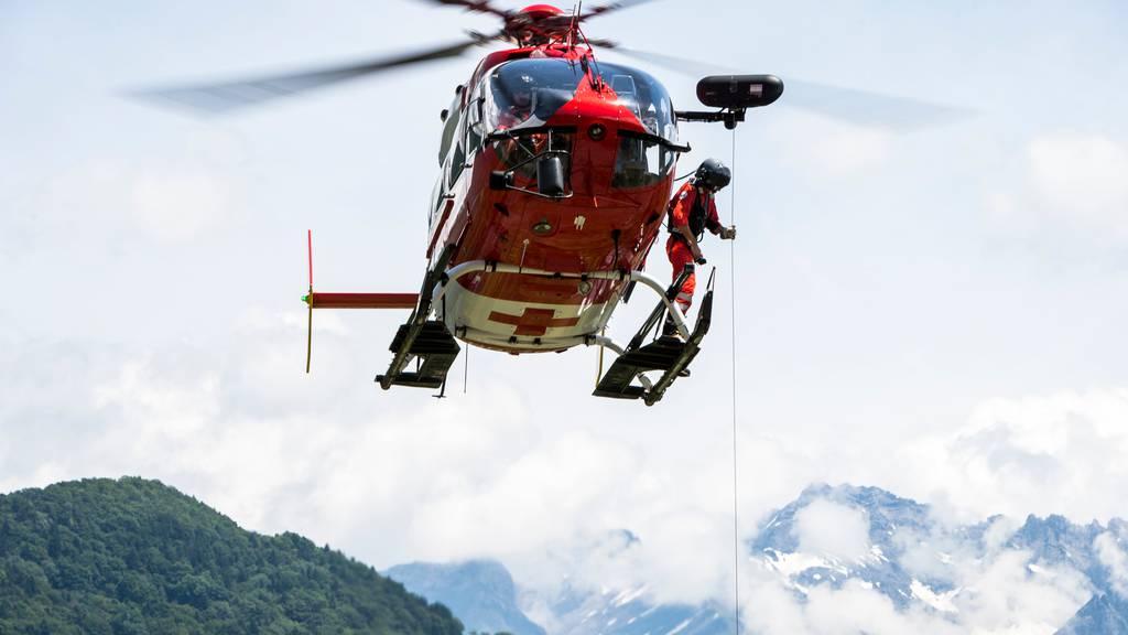 Rega-Helikopter an Pfingsten 130 Mal im Einsatz