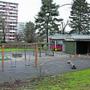 Gespenstische Ruhe gestern auf dem Spielplatz des Kindergartens «Quartierzentrum Langäcker».