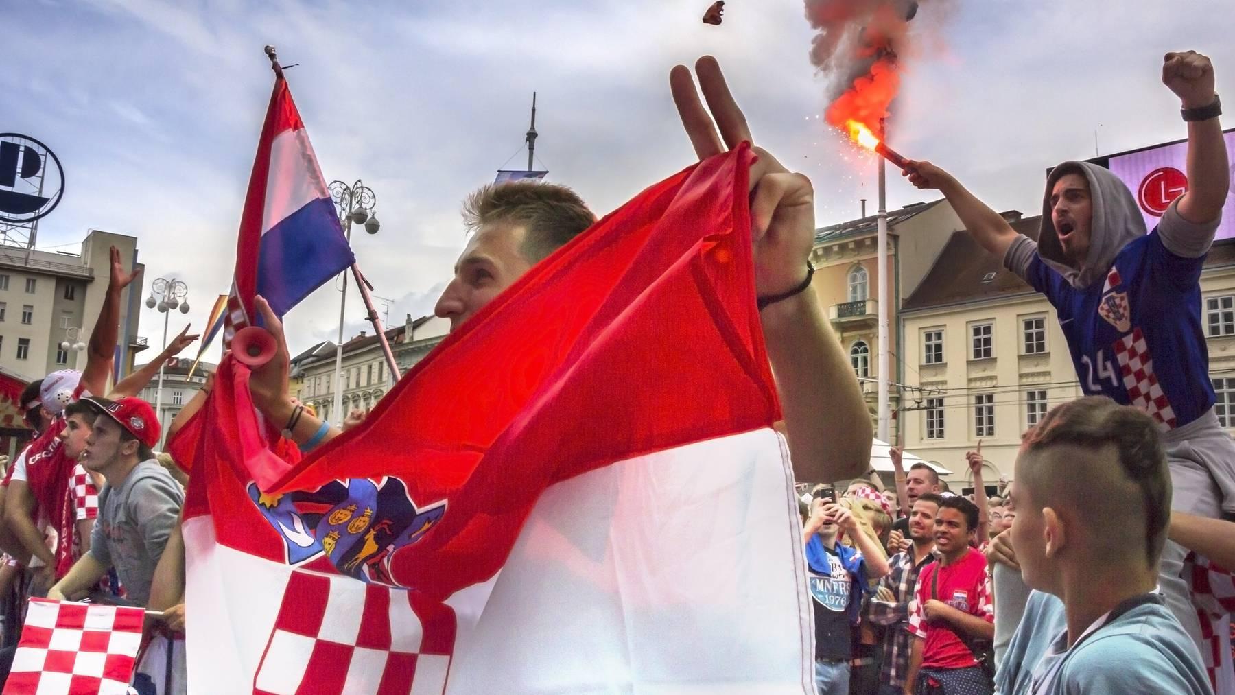 Kroatien Schlägerei