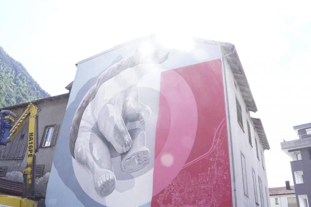 Streetart Festival Chur 2018 (© FM1Today/Dario Brazerol)