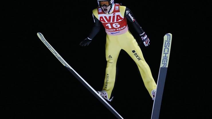 Gregor Deschwanden fliegt auf den 7. Rang - sein Karriere-Bestresultat