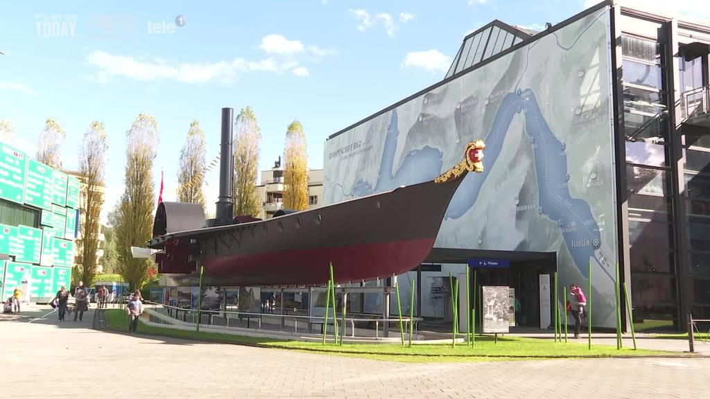Eine alte Attraktion kehrt zurück: Das Dampfschiff «Rigi» ist fertig restauriert