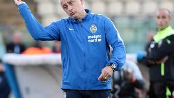Andrea Mandorlini war fünf Jahre an der Seitenlinie von Hellas Verona