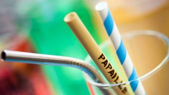 Restaurants in der Stadt Neuenburg werden künftig Sirups und Frappés mit Röhrchen aus Stahl, Bambus oder Papier servieren. Umweltbelastende Wegwerf-Trinkhalme aus Plastik werden der Vergangenheit angehören.