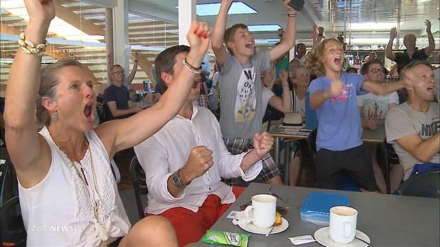 Hühnerhaut bei Federer-Fans