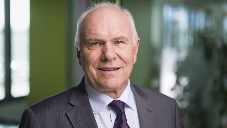 Der Präsident des Industrie-Dachverbandes Swissmem, Hans Hess, fordert eine rasche Öffnung der Grenzen für Geschäftsleute. (Archivbild)