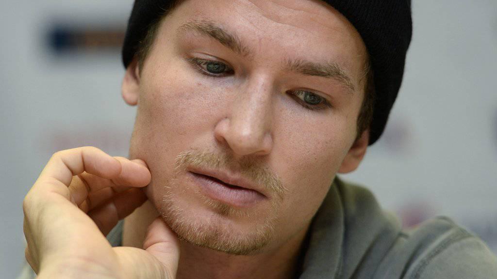 Ob nackt oder mit Mütze: Iouri Podladtchikov fühlt sich wohl in seiner Haut. (Archivbild)