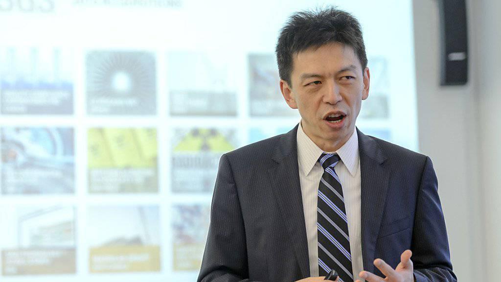 Frankie Ng, CEO der SGS, kann sich über starke Halbjahreszahlen freuen, will aber nicht euphorisch werden. (Archiv)