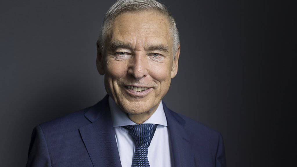 Peter Brabeck tritt als Verwaltungsratspräsident am Donnerstag offiziell von der Bühne bei Nestlé ab - nachdem er dem Konzern die Richtung für die Zukunft vorgegeben hat. (Archiv)