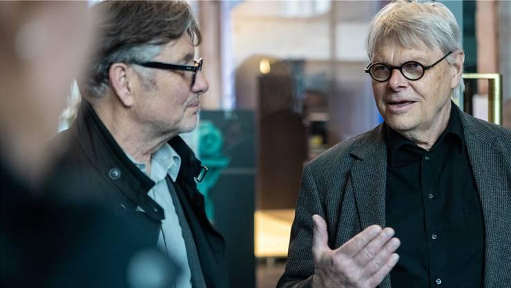 Der Thuner Designer und Unternehmer Uli Biesenkamp (76)