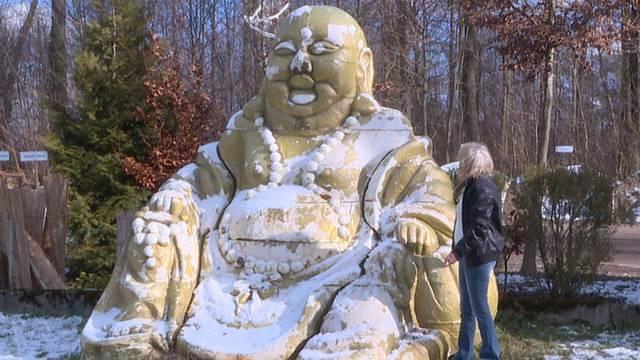Riesen-Buddha von Winterthur abgeholt