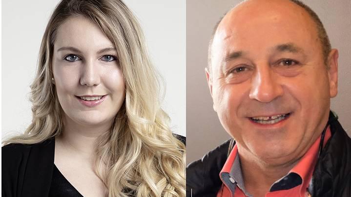 Jennifer Fischer und Rolf Wyssling bilden das neue Präsidium der SVP des Bezirks Dietikon.