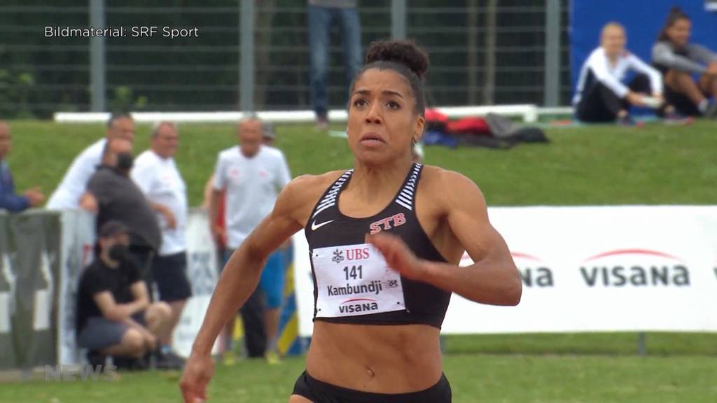 Mujinga Kambundji holt Gold bei den Leichtathletik-Schweizermeisterschaften