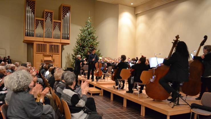 Das Konzert fand in der neuen reformierten Kirche Urdorf statt.