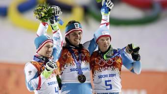 Doppelsieg für Österreicher: Matt mit Slalom-Gold, Hirscher wird Zweiter