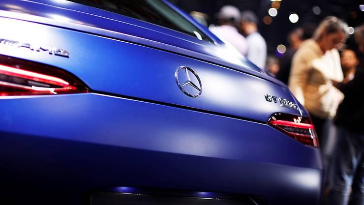 Der deutsche Autobauer Daimler hat im November mehr verkauft als noch vor einem Jahr.(Archivbild)