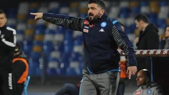 Gennaro Gattuso ist mit einer Heimniederlage als Trainer von Napoli gestartet