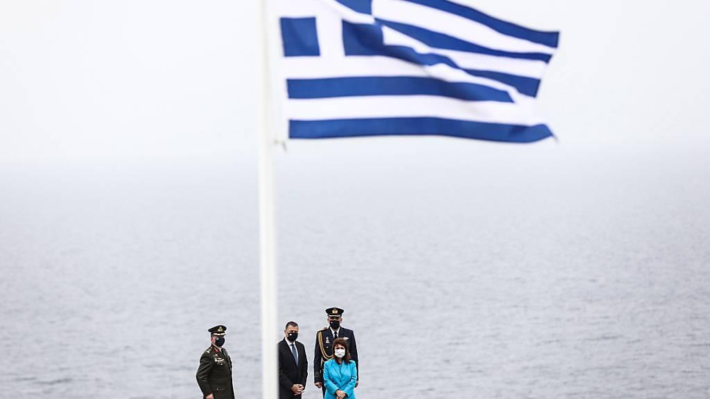 Die griechische Wirtschaft ist im ersten Quartal trotz Corona-Pandemie kräftig gewachsen. (Archivbild)